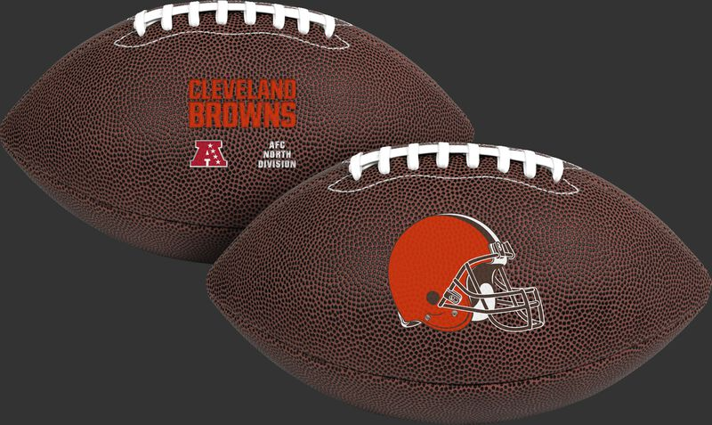NFL Cleveland Browns Air-It-Out youth football with team logo and team name SKU #08041064121