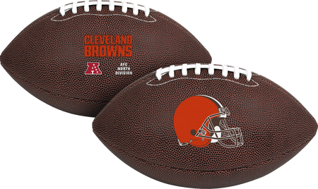 NFL Cleveland Browns Air-It-Out youth football with team logo