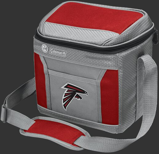 Rawlings Atlanta Falcons 9 Can Cooler In Team Colors With Team Logo On Front SKU #03281060111