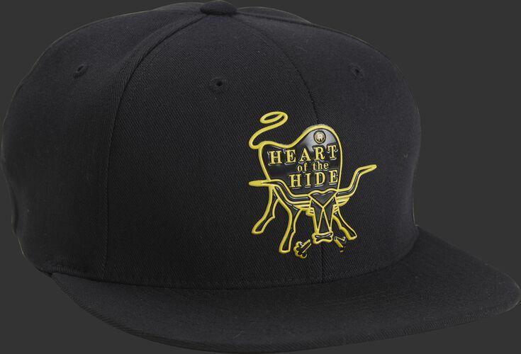 Front of Rawlings Black Heart Of The Hide Logo Trucker Hat - SKU #RWPPH