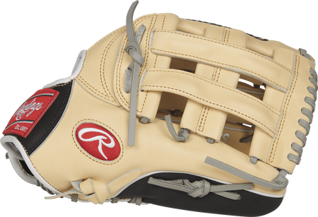 PRO3039-6CBFS Heart of the Hide 12.75-inch outfield finger shift glove with a camel thumb and H web