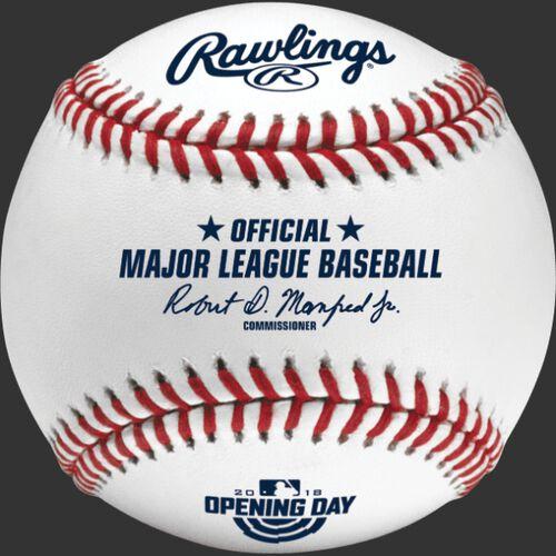 MLB 2018 Opening Day Baseballs