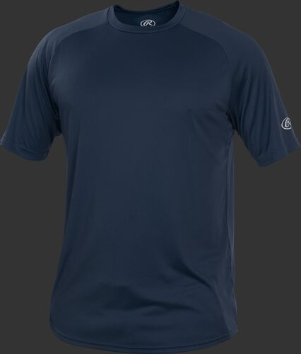 RTT Navy Adult crew neck short sleeve jersey