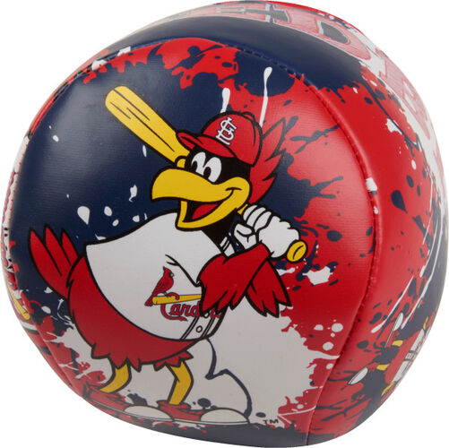 Rawlings St. Louis Cardinals Quick Toss 4'' Softee Baseball With Team Mascot On Front In Team Colors SKU #01320007112