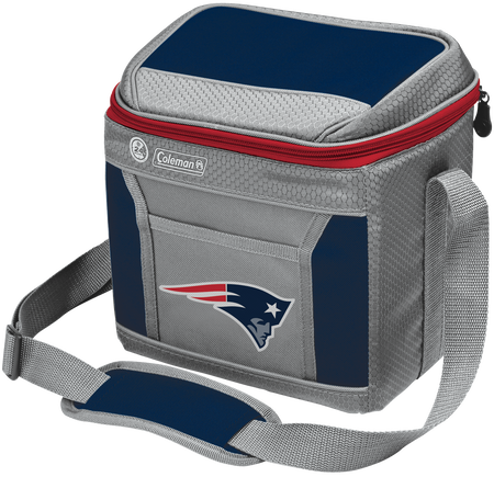 NFL New England Patriots 9 Can Cooler