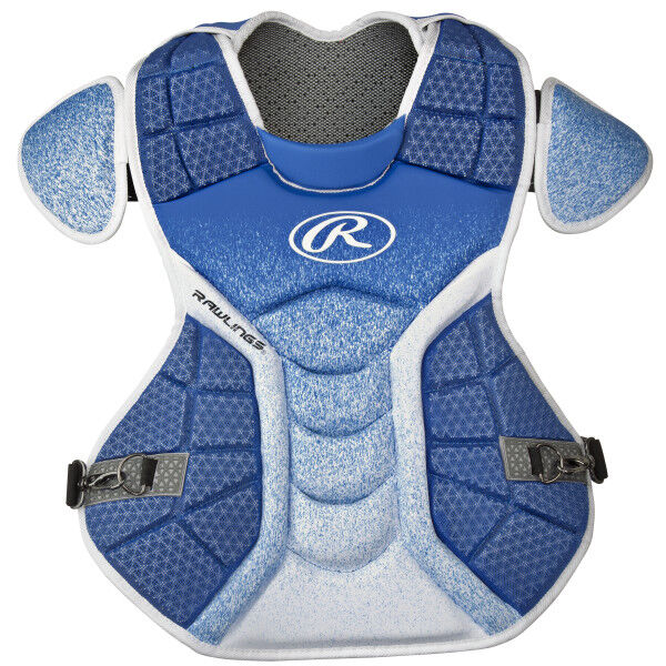 Velo Adult Chest Protector Royal/White