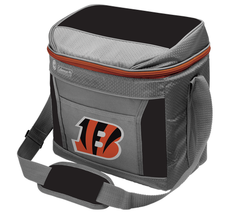 Rawlings Cincinnati Bengals 16 Can Cooler In Team Colors With Team Logo On Front SKU #03291063111