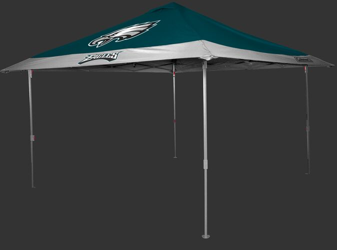 Rawlings Green and White NFL Philadelphia Eagles 10x10 Eaved Canopy With Team Logo and Name SKU #07561080111
