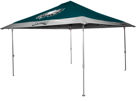 NFL Philadelphia Eagles 10x10 eaved canopy in team colors
