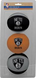 NBA Brooklyn Nets Three-Point Softee Basketball Set