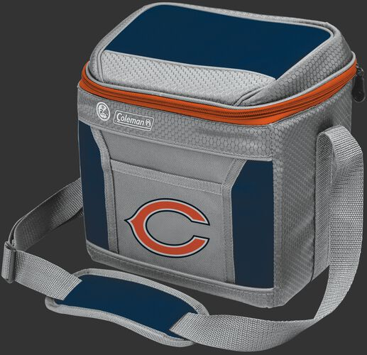 Rawlings Chicago Bears 9 Can Cooler In Team Colors With Team Logo On Front SKU #03281062111