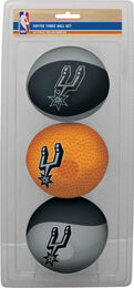 NBA San Antonio Spurs Three-Point Softee Basketball Set