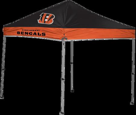 NFL Cincinnati Bengals 9x9 shelter with 4 team logos
