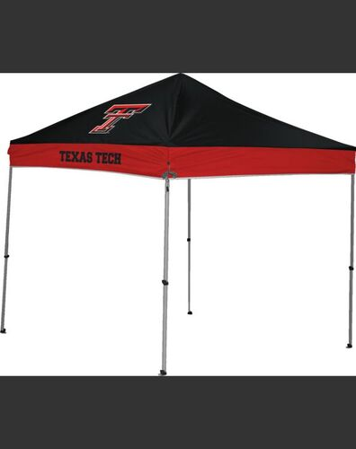 Rawlings Scarlet and Black NCAA Texas Tech Red Raiders 9x9 Canopy Shelter With Team Logo and Name