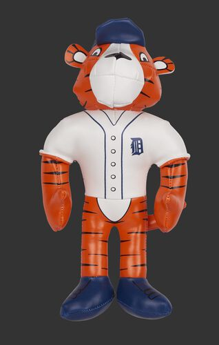 Rawlings MLB Detroit Tigers Mascot Softee With White Team Jersey and Blue Backwards Team Hat SKU #03770027111