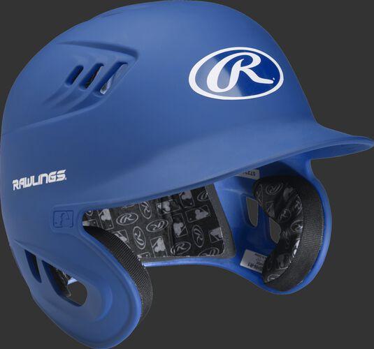 Coolflo High School/College Matte Batting Helmet Royal