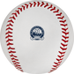 The Minnesota Twins 60th Anniversary logo stamped on a MLB baseball - SKU: ROMLBMT60 image number null