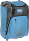 Front left angle of a Columbia blue Rawlings Franchise bag with gray accents - SKU: FRANBP-CB image number null