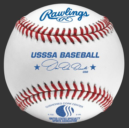 ROLBUSSSA USSSA youth tournament grade baseball with raised seams
