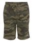 Green camo Rawlings men's fleece shorts - SKU: RSGFS-CAMO image number null