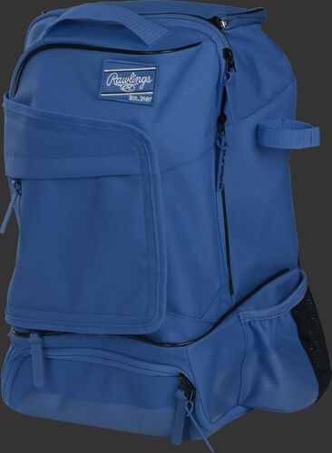 Left angle of a royal R701 universal training backpack