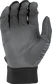Grey palm of a grey/black 5150GBGY youth 5150 bating glove image number null