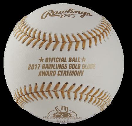 MLB Rawlings Gold Glove 60th Anniversary Baseballs