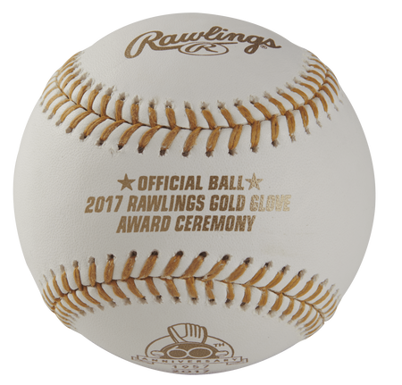 MLB Rawlings Gold Glove 60th Anniversary Baseballs