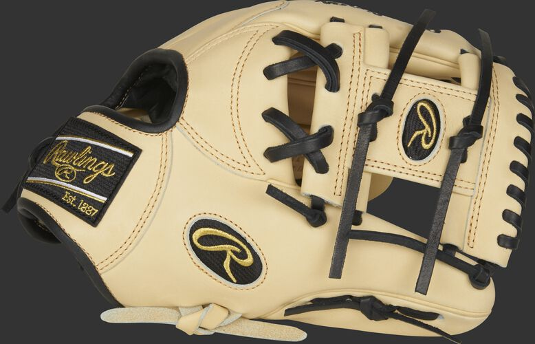 Thumb of a camel 2021 Heart of the Hide infield glove with a camel I-web - SKU: PRONP4-2CB