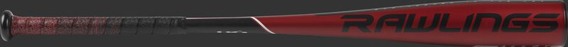 US9511 USA 5150 -11 baseball bat with a red barrel and black/red batting grip