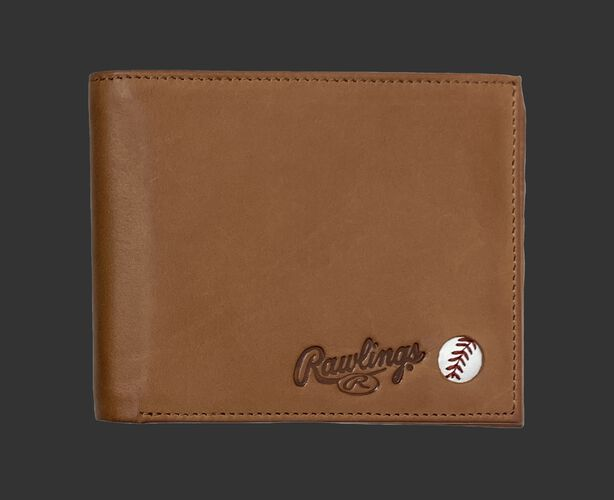 Play Ball Bi-Fold Wallet Tan