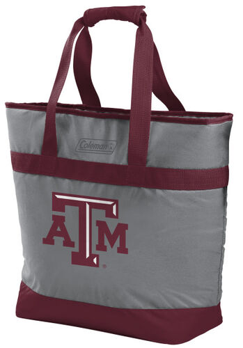 Rawlings Texas A&M Aggies 30 Can Tote Cooler In Team Colors With Team Logo On Front SKU #07883061111