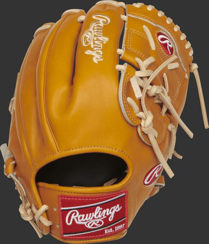 PRO206-9T 12-inch Rawlings infield/pitcher's glove with a tan back
