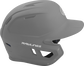 Right side of a matte silver MACH helmet image number null