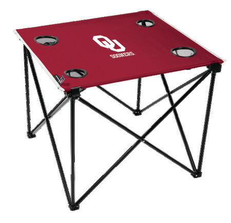 NCAA Oklahoma Sooners Deluxe Tailgate Table