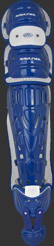 Royal CSPZ Rawlings Salvador Perez model leg guards with white trim