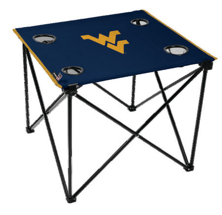 NCAA West Virginia Mountaineers Deluxe Tailgate Table