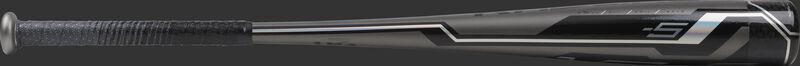 USZV5 Rawlings youth USA bat with a grey barrel and black/silver accents