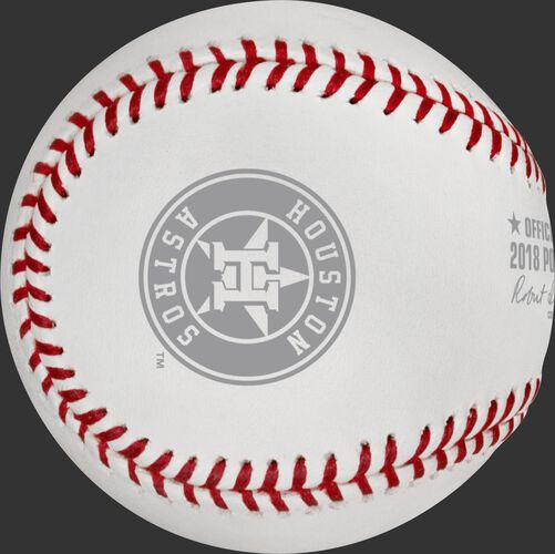 MLB 2018 American League Championship Series Dueling Baseball