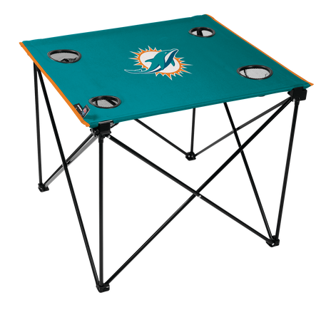 NFL Miami Dolphins Deluxe Tailgate Table
