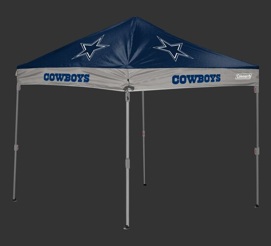 Rawlings Navy and Grey NFL Dallas Cowboys 10x10 Canopy Shelter With Team Logo and Name SKU #03221065111
