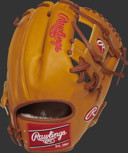 PROS204-2KRTP Pro Preferred 11.5-inch I-web glove with a rich tan back