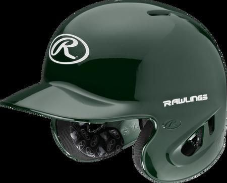 RPR High School/College Batting Helmet Dark Green