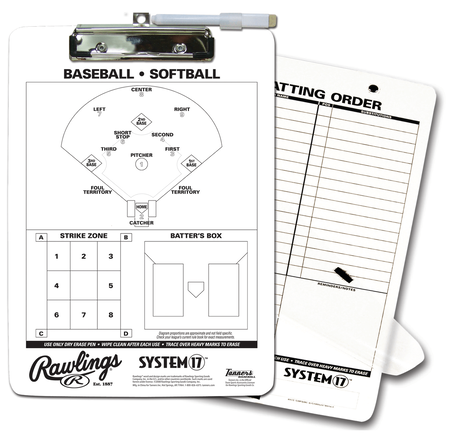 Coaches Baseball Clipboard