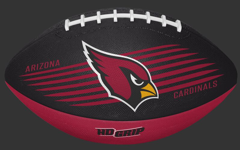 Red and Black NFL Arizona Cardinals Downfield Youth Football With Team Logo SKU #07731081121