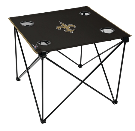 NFL New Orleans Saints Deluxe Tailgate Table