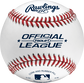 FSOLB1 Flat seam baseball with the Official League baseball image number null