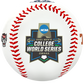 2021 College World Series logo on a CWS contenders replica baseball - SKU: 35393012531 image number null