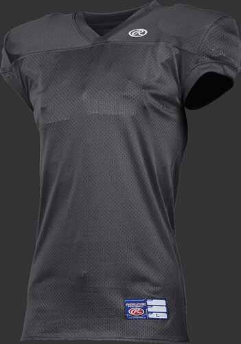 Adult Game/Practice Football Jersey Gray