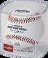 A Globe Life Field inaugural season baseball in a clear display cube - SKU: ROMLBTRIN20 image number null